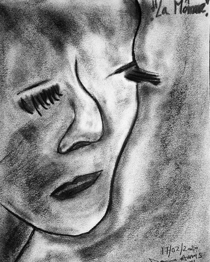 Si elle est triste, vous pouvez l'appeler «La môme».